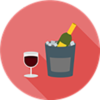 Wine Blend - Sommelier - Bartender - Hannes Desmedt - Wine Bottle in Ice