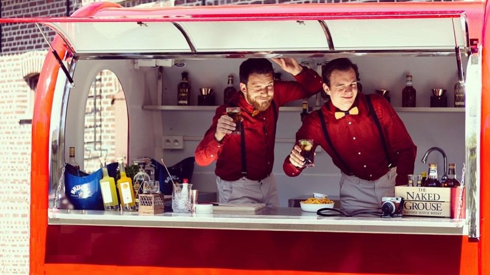 Wineblend - Hannes Desmedt - Sommelier - Harvey & Lewis bar - 2018
