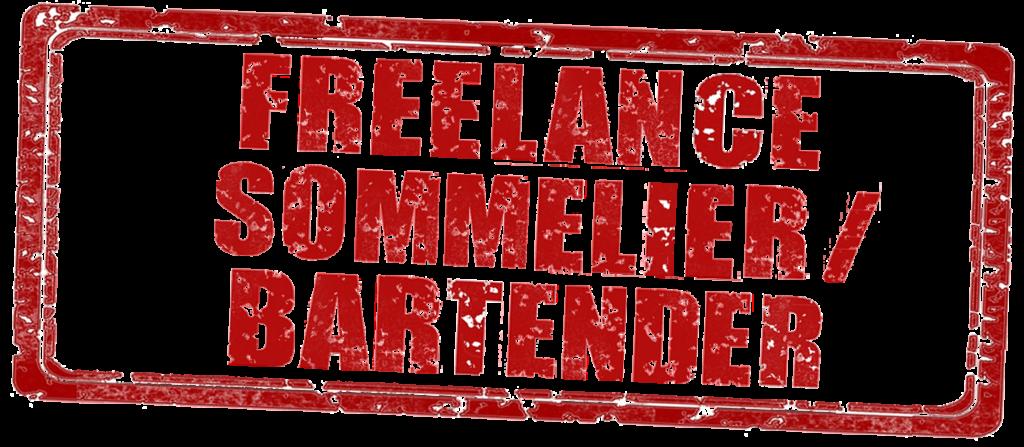 Freelance sommelier bartender