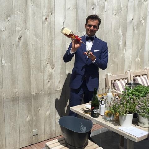 Wine Blend - Sommelier - Bartender - Hannes Desmedt - Cocktail Catering