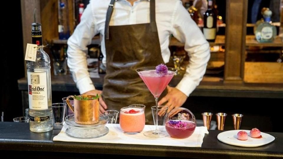 Wine Blend - Sommelier - Bartender - Hannes Desmedt - Diageo World Class 2015