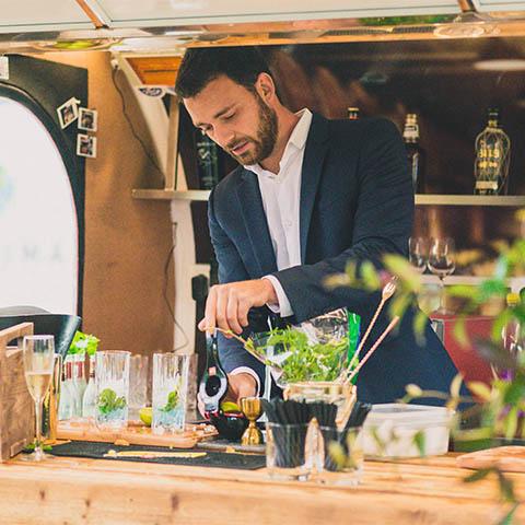 Wine Blend - Sommelier - Bartender - Hannes Desmedt - Mobiele bar - Louis